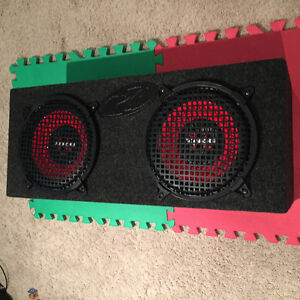 "Dual Subwoofer Box with Two 10"" Sony Xplod Speakers Regina Regina Area image 5"