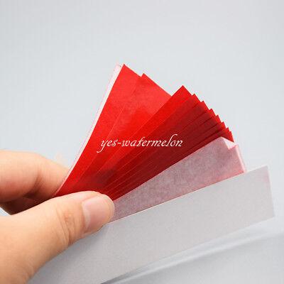 20 Booksbox Dental Articulating Paper Thick For Porcelain Denture Teeth 100um