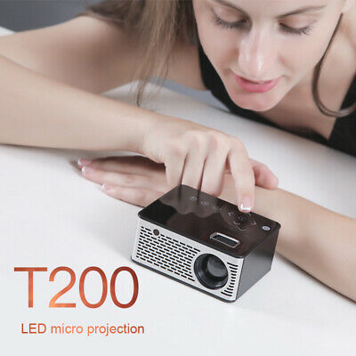 Mini Projector Micro HD Cinema HDMI Led Portable Home USB Theater Video Beamer
