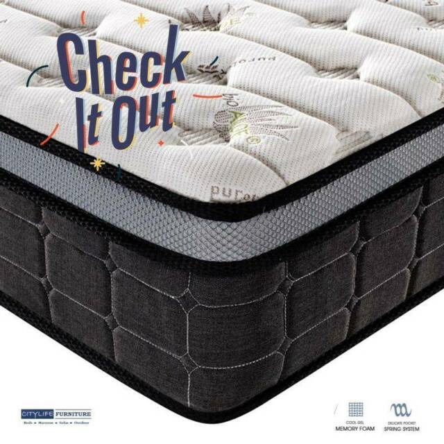 Brand New Bliss Gel Pocket Spring Mattress Available In