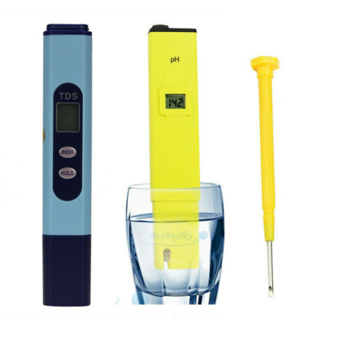 Digital Ph Meter+TDS Tester Aquarium Pool Hydroponic ...