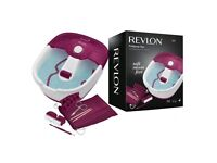 Revlon Pedicure Home Foot Spa and Massager with Nail Care Set