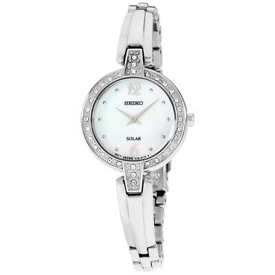Seiko Core MOP Dial Stainless Steel Ladies Watch SUP287