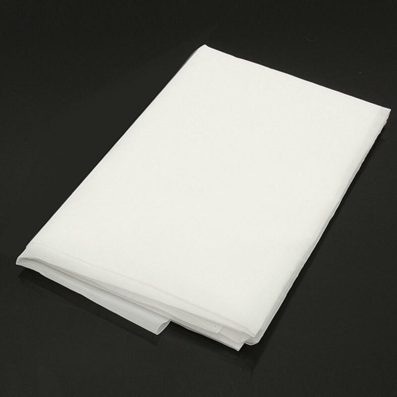 """US Stock 40"""" x 40"""" Nylon Filtration 400 Mesh Water Oil Industrial Filter Cloth"""