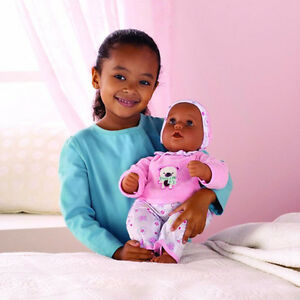 NEW: Interactive Baby Doll (Only Dark complexion available)