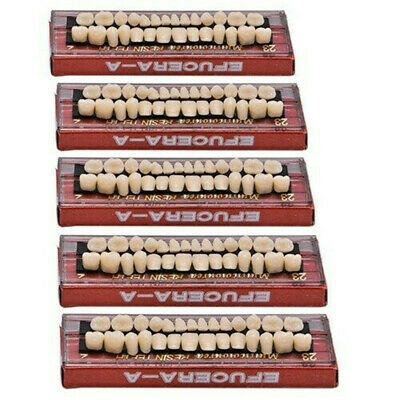 280ps Acrylic Resin Denture 23 A2 Dental Full Set Teeth Upper Lower Shade Os29