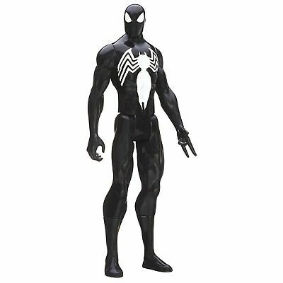 Marvel Avengers Titan Super Hero Series Black Spider- Man Action Figure Kid Toy