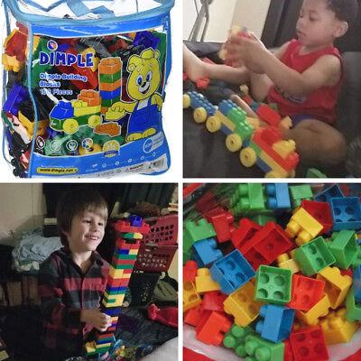 150 Piece Building Blocks Mega Big Bag Classic Lego Toddler Kid Toy BPA Free NEW](Toy Building Blocks)