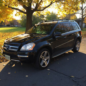 2012 Mercedes-Benz GL-Class GL350 Avant Garde AMG package