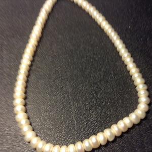 Genuine Natural White Pearl Necklace