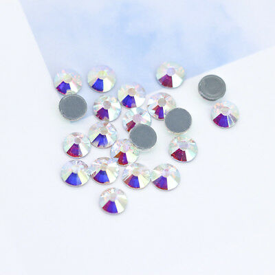 (5A ss34 ss40 ss50 AB Iron On Hotfix Crystal Rhinestone Hot Fix Stone for clothes)
