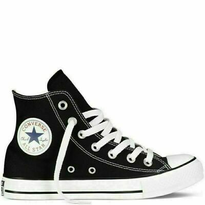 Converse All Star Chuck Taylor Black Colour High Hi Tops Trainers Pumps Unisex