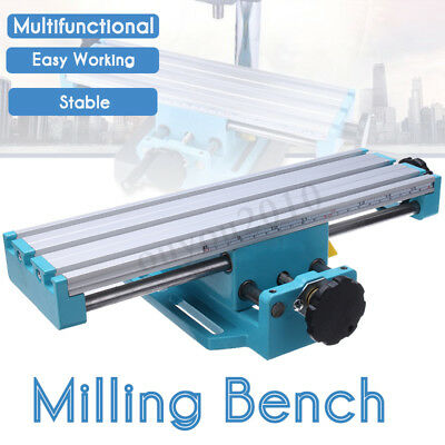 Milling Machine Compound Work Table Cross Slide Bench Drill Press Vise