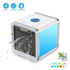 Personal Space Cooler, Air Purifier Humidifier 3 in 1, Three Fan