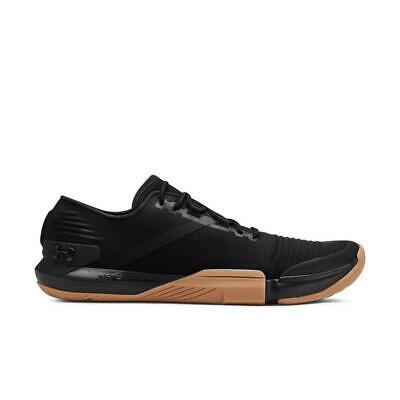 Under Armour UA TriBase Reign Training Shoes Black/Gum 3021289-001 Men Size 7.5