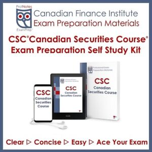 CSC (✾Canadian Securities Course✾) Exam St. Catharines