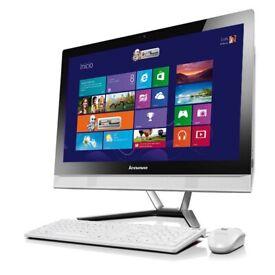 Lenovo C40-30 - All in One Desktop PC - 21.5 inch FHD Touchscreen - 1TB HDD 8GB RAM