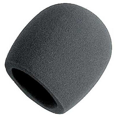 - New On Stage Foam Ball-Type Mic Anti Saliva Windscreen For Microphones Black