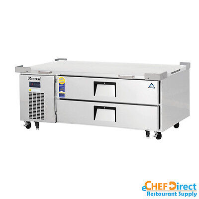 Everest Ecb52-60d2 60 Double Drawer Chef Base