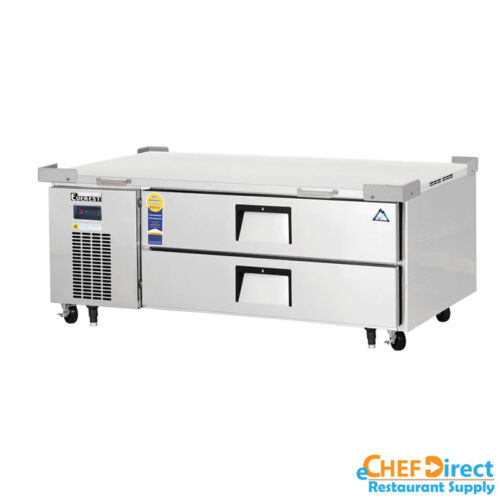"""Everest Ecb52-60d2 60"""" Double Drawer Chef Base"""