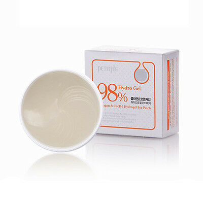 Eye Essence (PETITFEE 98% Hydro Gel Collagen Coenzyme Q10 Hydro Gel Essence Eye Patch - 60ea)