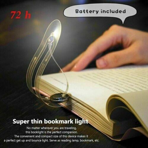 New Mini Book Reading Light LED Flexible Bookmark Light Lamp for Night Reading