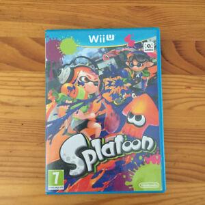 2 Wii U games for sale - Splatoon and Zelda: The Windwaker