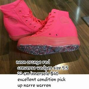 converse wedges Narre Warren Casey Area Preview
