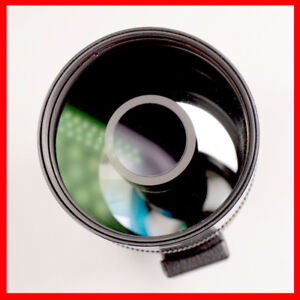 Canon manual FD 500mm F8 mirror lens