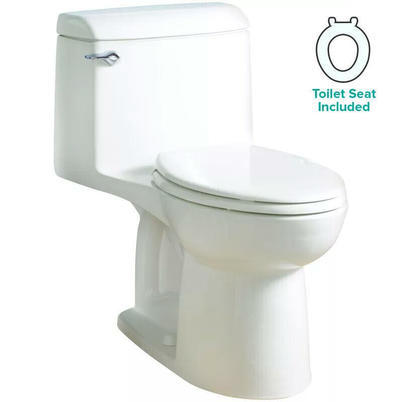 American Standard 2004.314 Champion 4 Elongated One-Piece Toilet - White