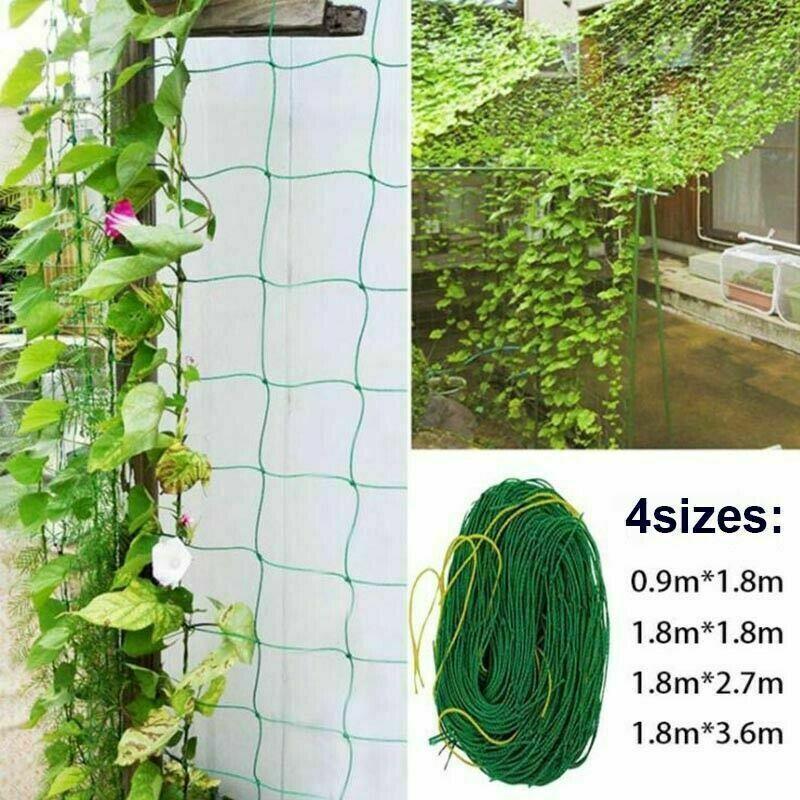 Nylon Trellis Netting Plant Support For Climbing Plants Garden Vine Trellis Net