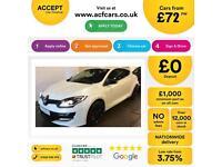 Renault Megane SPORT GT LINE 265BHP FROM £72 PER WEEK!