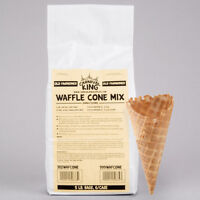 Carnival King Old Fashioned Waffle Cone Mix 5 lb. Bag - 6/Case
