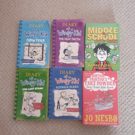 Books - Diary of a Wimpy Kid, Middle School & Doctor Proctor