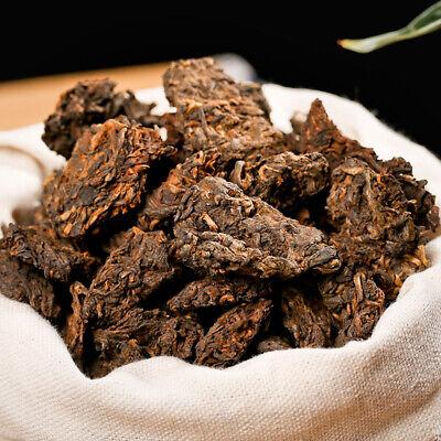 Supreme Aged Lao Cha Tou Golden Bud Pu-erh Loose Tea 90s Ripe Aged Pu Erh Tea