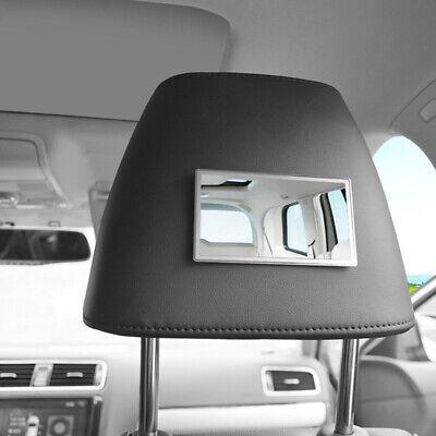 Acero Inoxidable Clip Parasol Con Espejo Para Coche Camión Automóvil