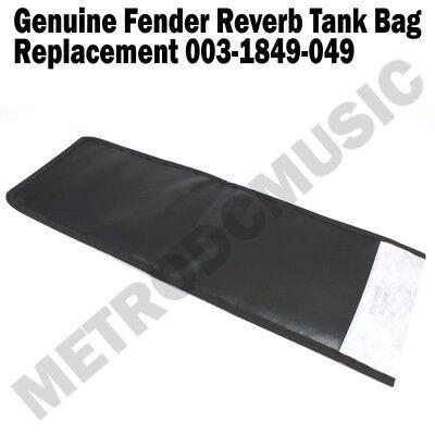 Original FENDER REVERB TANK BAG Black for Most 4-Spring Units NEW 003-1849-049