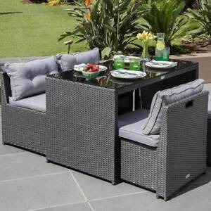 Outdoor Living Maxim 5 Piece Dining Setting (New)