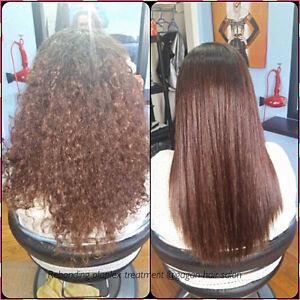 JAPANESE HAIR STRAIGHTENING SPECIALIST OLAPLEX TREATMENT REBOND Belleville Belleville Area image 10