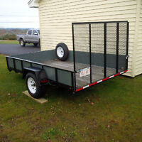 UTILITY TRAILER 6 feet - 6 inches wide by 10 feet in length