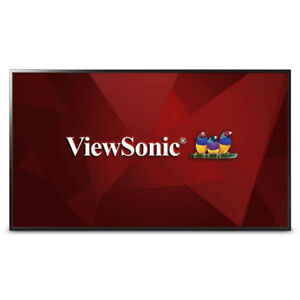 "ViewSonic CDE4302 43"" 1080p Commercial LED Display USB Media TV"
