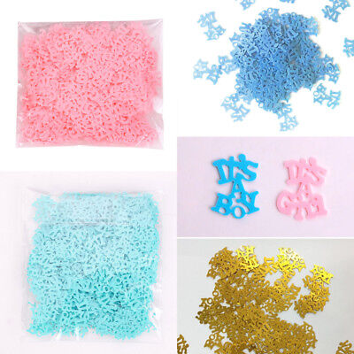 Baby Shower Table Confetti (Baby Shower Baby-Party Table Confetti it's A Boy/It's A Girl )