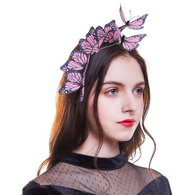 Women's 3D Butterfly Hairband Festival Headband Party Wedding Hair Accessories](Festival Accessories)