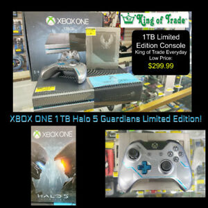 1 TB XBOX ONE System - Halo 5 Edition - King of Trade