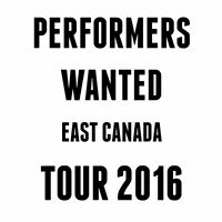 Eastern Canada Tour looking to fill dates. Apply by Email.