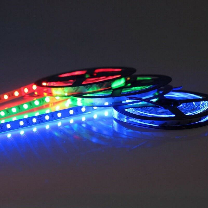 5m 10m 20m 24V SMD 5050 LED Stripe Streifen Band Leiste Licht RGB RGBW RGBWW