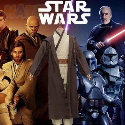 Guerra de las Ga Obi-Wan Kenobi Jedi Knight Traje de Cosplay Trajes de Halloween