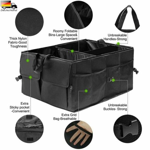 Kofferraumtasche Autotasche Aufbewahrungstasche Werkzeugtasche Organizer