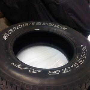 Bridgestone Dueller A/T tires for sale