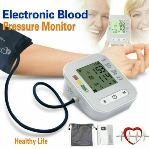 Portable Blood Pressure Monitor Upper Arm Digital BP Machine